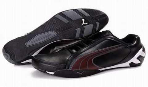 Chaussure Puma Jaune