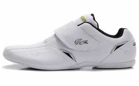 lacoste chaussure basket