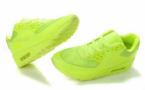 Nike Air Max Jaune Fluo
