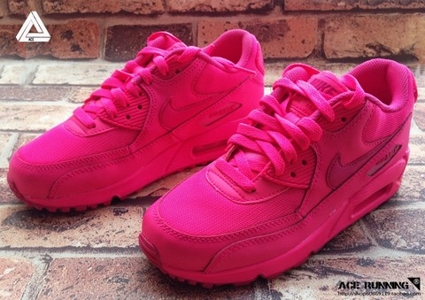 nike air max 90 rose fluo